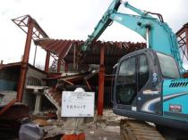 三重県伊賀市 鉄骨造施設解体