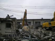 三重県伊賀市 集合住宅解体