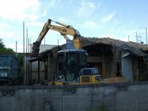 奈良県奈良市 木造住宅解体