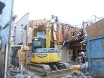 奈良県宇陀市 木造住宅解体
