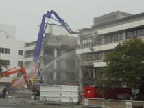 滋賀県甲賀市 病院解体
