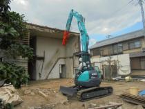 三重県名張市 住宅解体