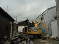 三重県伊賀市住宅解体
