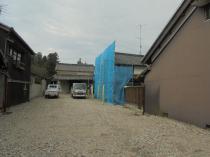 三重県伊賀市隣地壁面改修工事