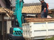 三重県伊賀市木造住宅解体工事