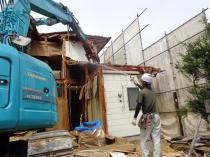 滋賀県湖南市 住宅解体工事